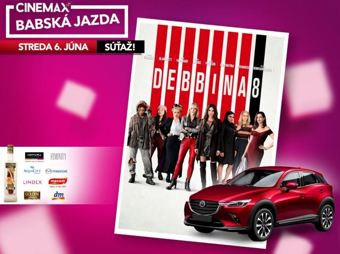 ad8f9a34b Príďte sa zabaviť na BABSKÚ JAZDU s filmom Debbina 8! | Zľavy a ...